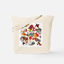 Autumn Crabs Tote Bag