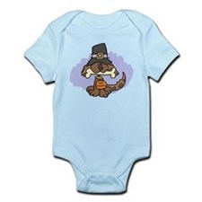 Thanksgiving Puppy Infant Bodysuit