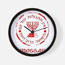 Mossad Insignia Wall Clock