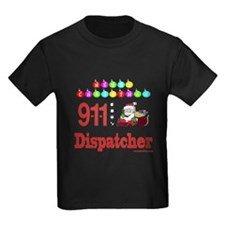 911 Dispatcher Christmas Gift T