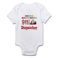 911 Dispatcher Christmas Gift Infant Bodysuit