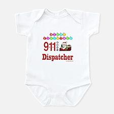 911 Dispatcher Christmas Gift Infant Bodysuit