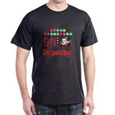 911 Dispatcher Christmas Gift T-Shirt
