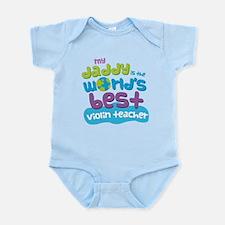 Violin Teacher Gifts for Kids Infant Bodysuit