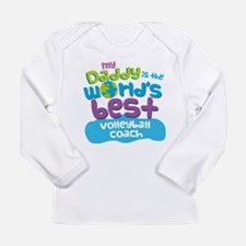 Volleyball Coach Gifts Long Sleeve Infant T-Shirt