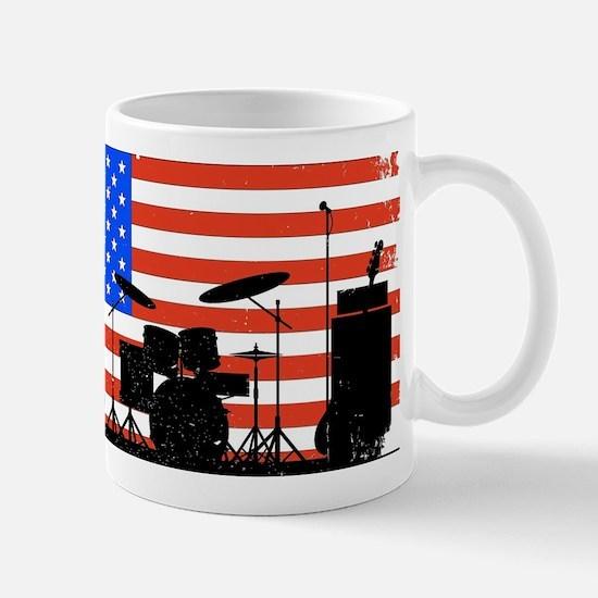 USA Rock Band Mugs