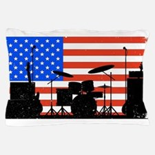 USA Rock Band Pillow Case