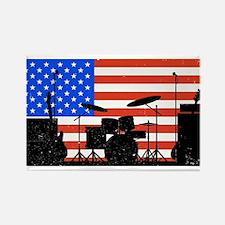 USA Rock Band Magnets