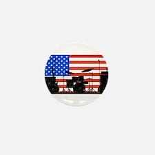 USA Rock Band Mini Button