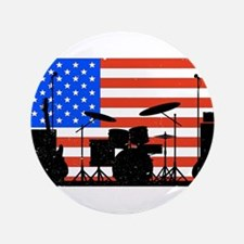 """USA Rock Band 3.5"""" Button (100 pack)"""