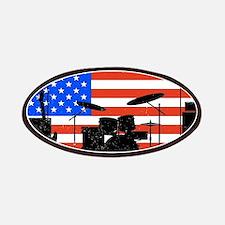 USA Rock Band Patch