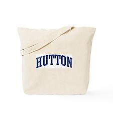 HUTTON design (blue) Tote Bag
