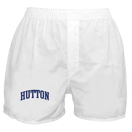 HUTTON design (blue) Boxer Shorts