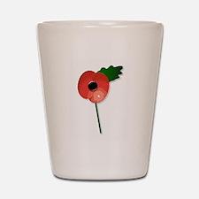 Poppy Shot Glass