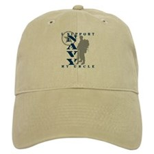 I Support Uncle 2 - NAVY Baseball Cap