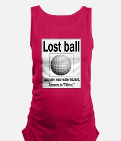 Funny Tiger woods Maternity Tank Top