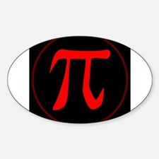 Pi the Constant Decal
