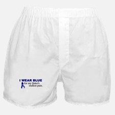 I Wear Blue For My Sister's Pain Boxer Shorts
