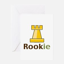 Rook Rookie Chess Piece Greeting Card