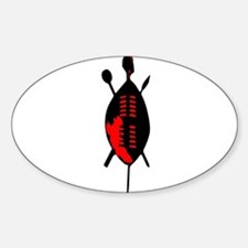 Zulu Shield Decal