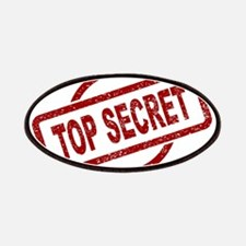 Top Secret Stamp Patch