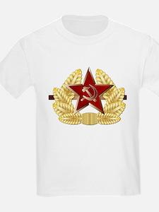 Soviet Cap Badge T-Shirt