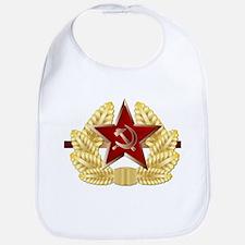 Soviet Cap Badge Bib