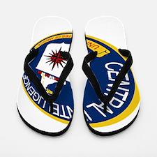 CIA Shield Flip Flops