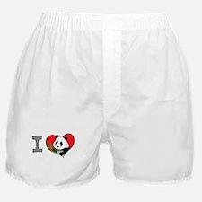 I heart pandas Boxer Shorts