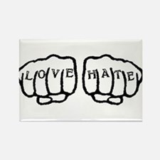Love Hate Tattoo Magnets