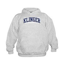KLINGER design (blue) Hoodie