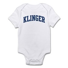 KLINGER design (blue) Infant Bodysuit