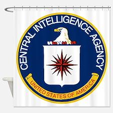 CIA Logo Shower Curtain