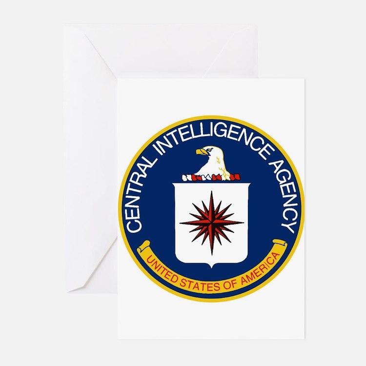 CIA Logo Greeting Cards