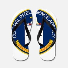 CIA Logo Flip Flops
