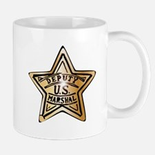 Deputy US Marshal Star Mugs