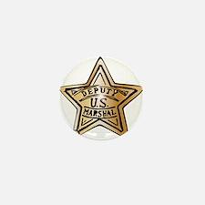 Deputy US Marshal Star Mini Button