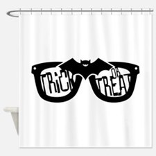 Trick or Treat Glasses Shower Curtain