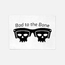 Bad To Bone 5'x7'Area Rug