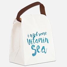 Vitamin Sea Canvas Lunch Bag
