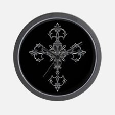 Large Cross Wall Clock