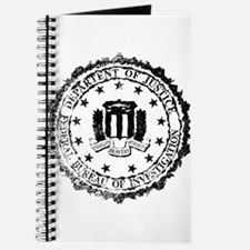 FBI Rubber Stamp Journal