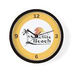 Satellite Beach Wall Clock