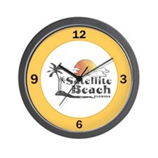 Satellite Beach Wall Clock