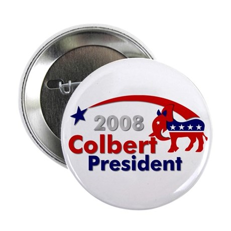 """::: Colbert - Star and Stripe ::: 2.25"""" Button"""