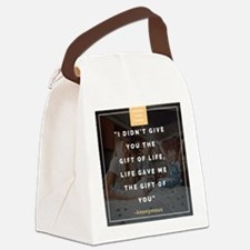 Foster care Canvas Lunch Bag