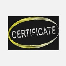 Certificate Blackboard Magnets