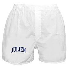 JULIEN design (blue) Boxer Shorts