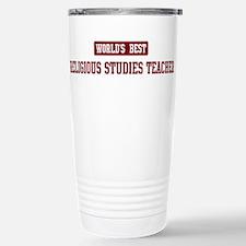 Cute World%27s best teacher Travel Mug