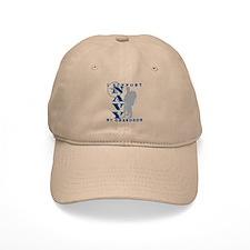 I Support Grandson 2 - NAVY Baseball Cap
